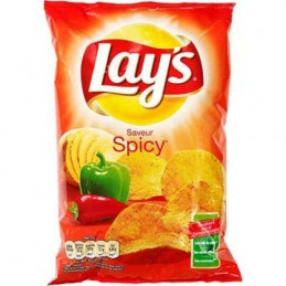 CHIPS SPICY 130G LAY'S