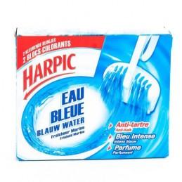 BLOC WC EAU BLEUE X2 HARPIC