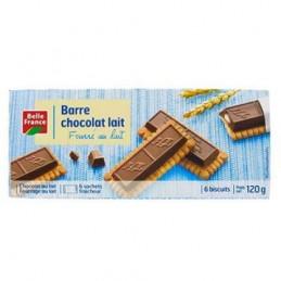 BARRE CHOCOLAT LAIT X6 120G...