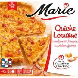 QUICHE LORRAINE 400G MARIE