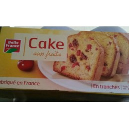 CAKE AUX FRUITS TRANCHES...