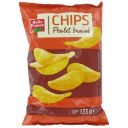 CHIPS POULET BRAISE 135G...