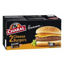 CHEESEBURGERS 2X140G CHARAL