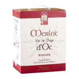 BIB VIN DE PAYS D'OC MERLOT...