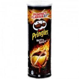 PRINGLES HOT&SPICY BOITE 175G