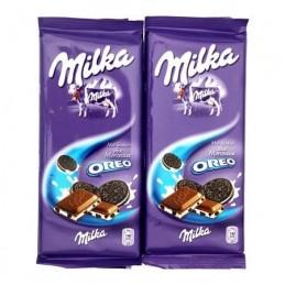 CHOCOLAT LAIT OREO 2X100G...
