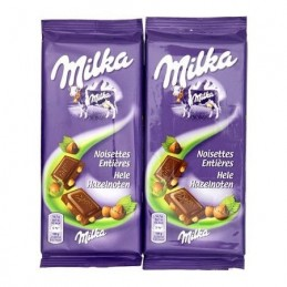 CHOCOLAT NOISETTES ENTIERES...