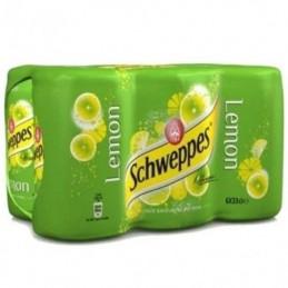 SCHWEPPES LEMON CAN 6X33CL