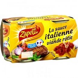 SAUCE ITALIENNE 2X190G ZAPETTI