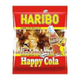 BONBONS HAPPY COLA 120G HARIBO