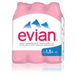 EAU MNERALE EVIAN PACK 6X1.5L