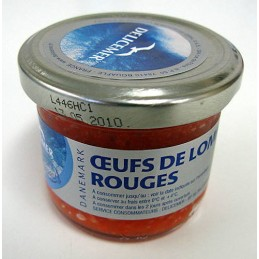 OEUFS LOMPE ROUGE 100G