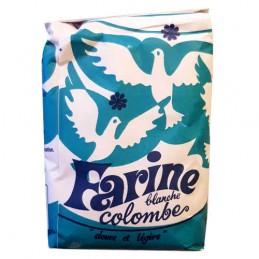 FARINE BLANCHE 1KG COLOMBE