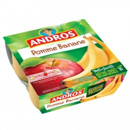 COMPOTE POMME BANANE 4X100G...