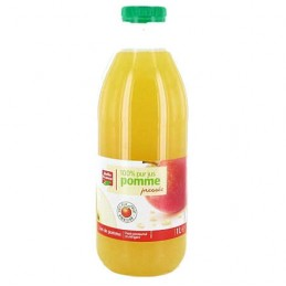 PUR JUS POMME PRESSEE 100%...