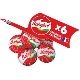 MINI BABYBEL ROUGE X6 120G BEL