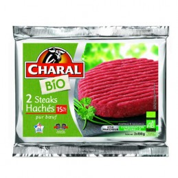 STEAKS HACHES 15% 2X100G...