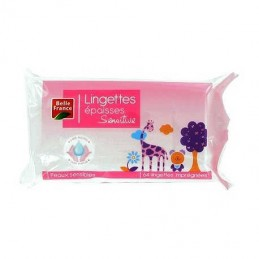 LINGETTES BEBE SENSITIVE...