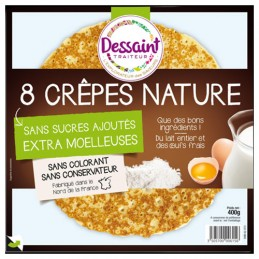 CREPES NATURE X8.400G...