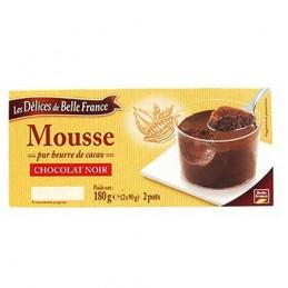MOUSSE CHOCOLAT NOIR 2X90G...