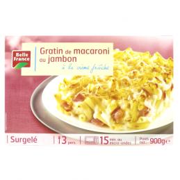 GRATIN MACARONI AU JAMBON...