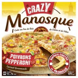 PIZZA CRAZY FEU DE BOIS...
