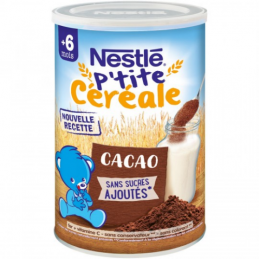 CEREALES BEBE 6+ MOIS CACAO...