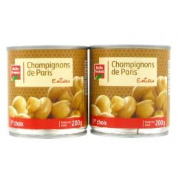 CHAMPIGNONS ENTIERS 2X115G...