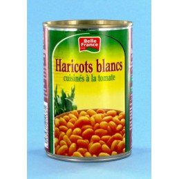 HARICOTS BLANCS TOMATE 400G...