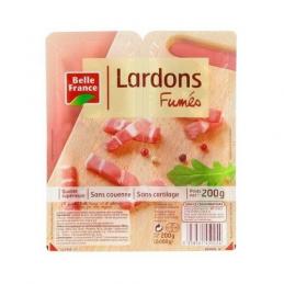 LARDONS FUMES 2X100G BELLE...