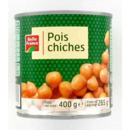 POIS CHICHES 400G BELLE FRANCE
