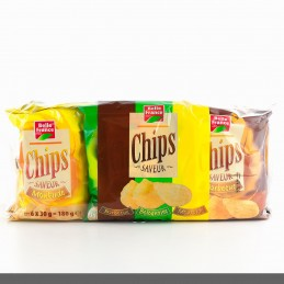 CHIPS AROMATISE 6X30G BELLE...