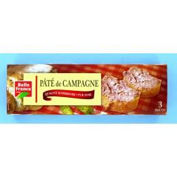 PATE DE CAMPAGNE 3X230G...