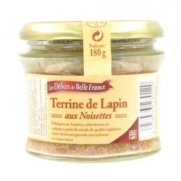 TERRINE LAPIN NOISETTES...