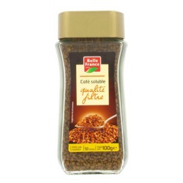 CAFE SOLUBLE QUALITE FILTRE...