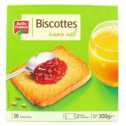 BISCOTTES SANS SEL X36 300G...