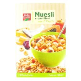MUESLI FRUITS 500G BELLE...