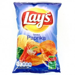 CHIPS PAPRIKA 130G LAY'S