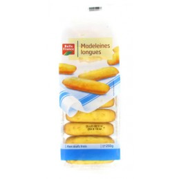 MADELEINES LONGUES 250G...