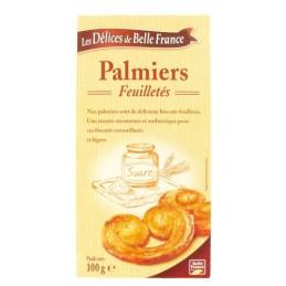 PALMIERS FEUILLETES 100G...