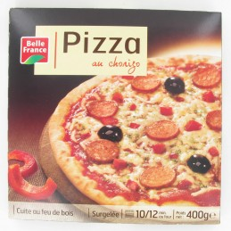 PIZZA FEU DE BOIS CHORIZO...