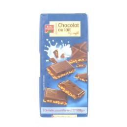 CHOCOLAT LAIT RIZ 100G...