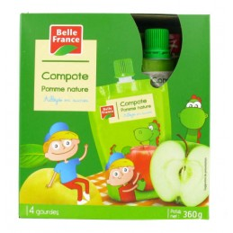COMPOTE POMME GOURDE 4X90G...