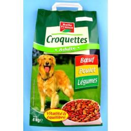 CROQUETTES BOEUF LEGUMES...