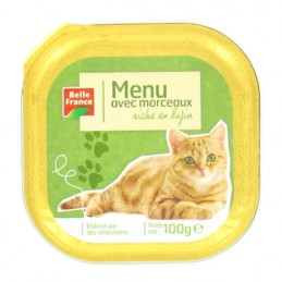 BARQUETTE LAPIN CHAT 100G...