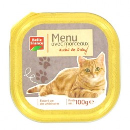 BARQUETTE BOEUF CHAT 100G...