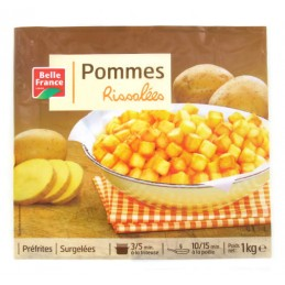 POMMES RISSOLEES 1KG BELLE...
