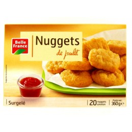 NUGGETS POULET 360G BELLE...