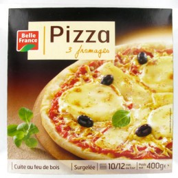 PIZZA 3 FROMAGES 400G BELLE...