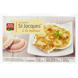 COQUILLES ST JACQUES 2X110G...